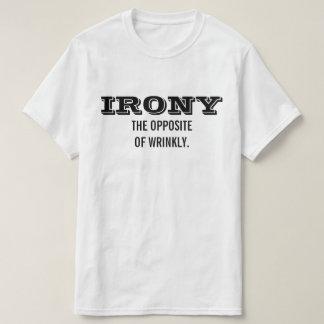 皮肉WRINKLYの反対 Tシャツ