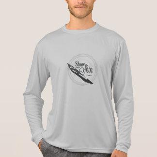 皮-無謀な監視--を示して下さい Tシャツ