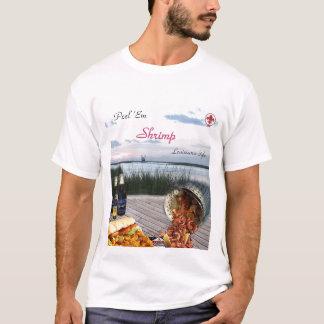 皮Emのエビのワイシャツ Tシャツ