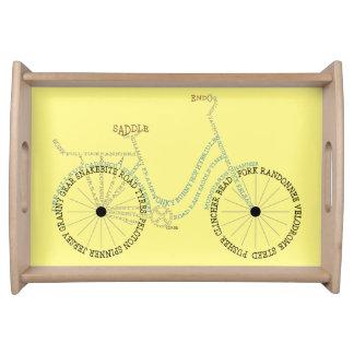 皿を循環させる印刷の自転車のバイクのサイクリング トレー