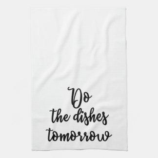 皿タオルを明日して下さい キッチンタオル