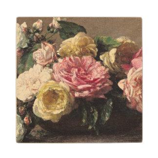 皿1882年のバラ ウッドコースター