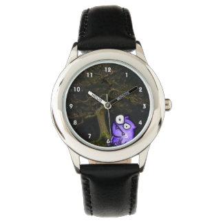 盆栽および獣 腕時計