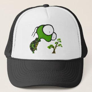 盆栽のカメの帽子 キャップ
