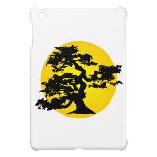 盆栽のシルエットの日曜日のiPad Miniケース iPad Miniケース