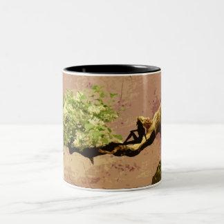 盆栽のマグの妖精 ツートーンマグカップ