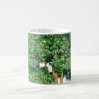 盆栽のマグ コーヒーマグカップ