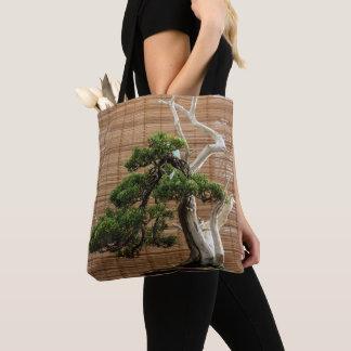 盆栽のマツ トートバッグ