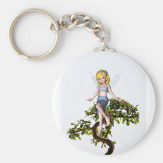 盆栽の木の妖精 キーホルダー