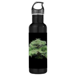 盆栽の木の緑植物 ウォーターボトル