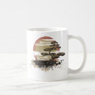 盆栽の木 コーヒーマグカップ