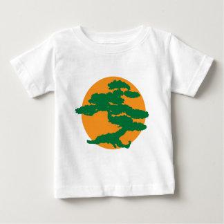 盆栽の木 ベビーTシャツ