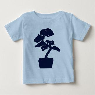 盆栽の青 ベビーTシャツ