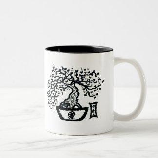 盆栽 ツートーンマグカップ