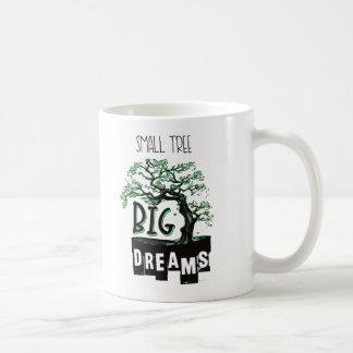 盆栽-小さい木の大きい夢 コーヒーマグカップ