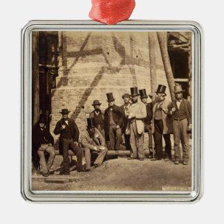 監督のグループ、1862年(写真) メタルオーナメント