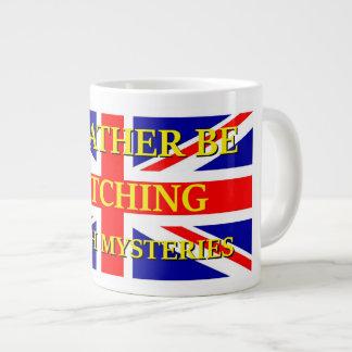 監視イギリスのミステリー ジャンボコーヒーマグカップ