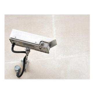 監視カメラ ポストカード
