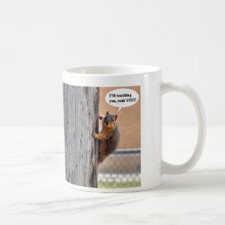 監視コーヒー・マグのリス コーヒーマグカップ