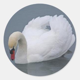 監視白鳥 ラウンドシール