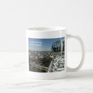 目からの眺め コーヒーマグカップ