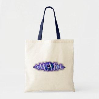 目がさめている環境に優しいバッグ トートバッグ