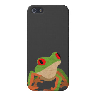 目が赤いアマガエル iPhone 5 CASE
