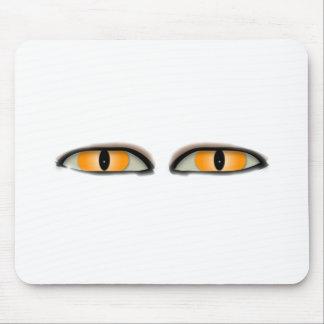 目のデザイン マウスパッド