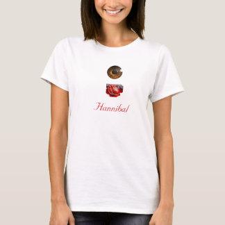 目のハートHannibal Tシャツ