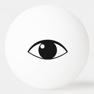 目のピンポン球 卓球ボール