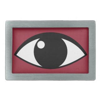 目のベルトの留め金 長方形ベルトバックル