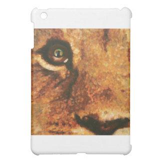 目のライオンのカブス虹 iPad MINI カバー