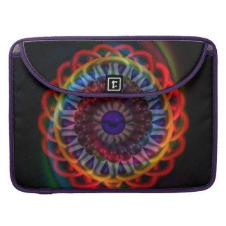 目の万華鏡のように千変万化するパターンの芸術のMacbookの袖の視野 MacBook Proスリーブ