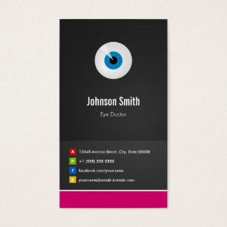 目の心配の眼科医-光学創造的な革新的 名刺