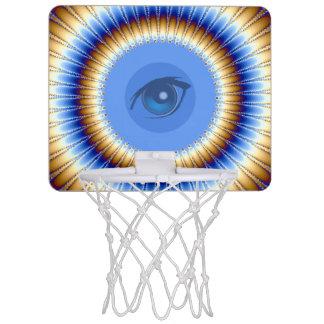 目の打撃! _ ミニバスケットボールネット