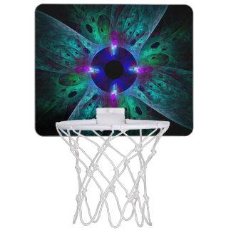 目の抽象美術 ミニバスケットボールゴール