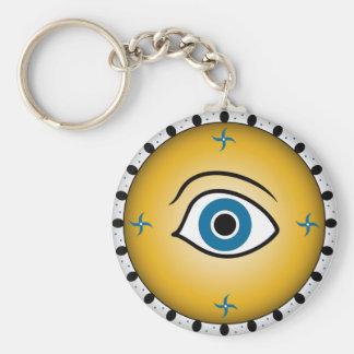 目の盾 キーホルダー