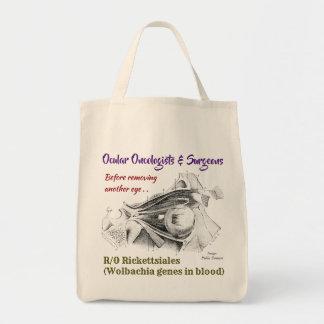 目の腫瘍学者か外科医R/O Wolbachiaはによる上がりました トートバッグ