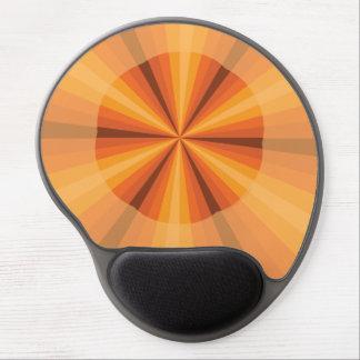 目の錯覚のオレンジゲルのマウスパッド ジェルマウスパッド