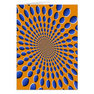 目の錯覚のポッド カード