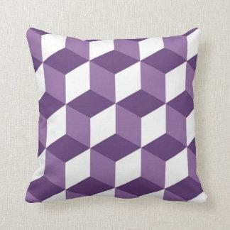 目の錯覚の幾何学の枕 クッション