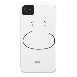 目の錯覚の漫画の顔 Case-Mate iPhone 4 ケース