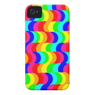 目の錯覚の虹 Case-Mate iPhone 4 ケース