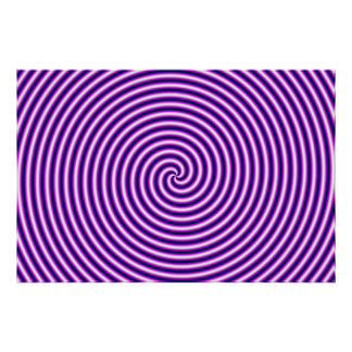 目の錯覚のHypnoの紫色 ポスター