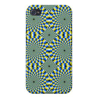 目の錯覚を回す催眠薬 iPhone 4/4Sケース