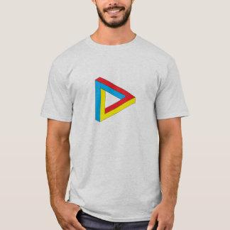目の錯覚1色 Tシャツ