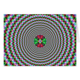 目の錯覚 カード