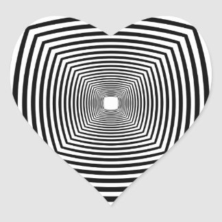 目の錯覚 ハートシール