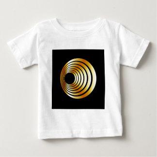 目の錯覚 ベビーTシャツ