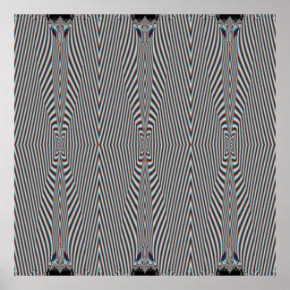 目の錯覚 ポスター